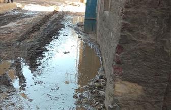 تضرر منازل وشوارع بمنطقة الراهبات جنوب الأقصر بسبب انفجار ماسورة مياه