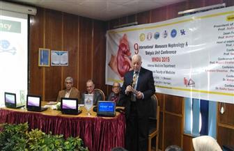 افتتاح فعاليات المؤتمر الدولي السنوي التاسع لوحدة أمراض الكلى والديلزة بجامعة المنصورة