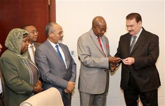 نقيب المهندسين يلتقي وزير الصناعة والتجارة والوزير المفوض والسفير التشادي