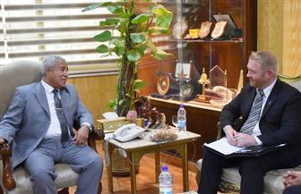 محافظ أسوان يستقبل السفير النيوزيلندي