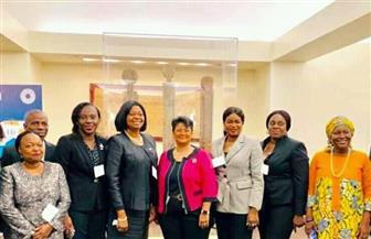 المستشار القانونى للاتحاد الإفريقى تلتقى مديرة مركز أيكسيد للتحكيم التابع للبنك الدولي | صور