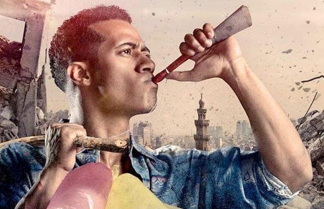 محمد رمضان يرد الجميل لأم حسن فى مسلسل  زلزال  -
