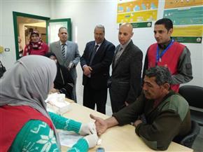 فحص 3 ملايين و447 ألفا و628 مواطنا في حملة 100 مليون صحة بالشرقية