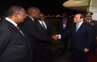 رئيس كوت ديفوار وكبار المسئولين يستقبلون الرئيس السيسي في أبيدجان| صور