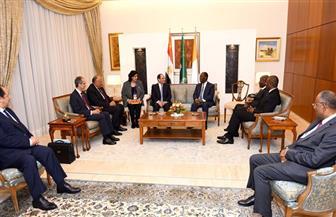 الرئيس السيسي يعقد اليوم جلسة مباحثات مع نظيره الإيفواري بأبيدجان