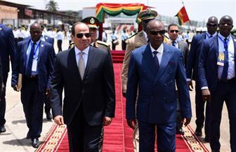 من حصاد جولة الرئيس السيسي الإفريقية.. القاهرة - كوناكري آفاق مستقبلية