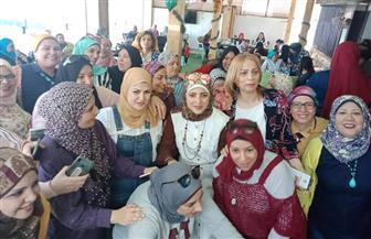 سيدات حدائق الأهرام ينظمن فاعلية لدعم المشاركة السياسية للمرأة | صور