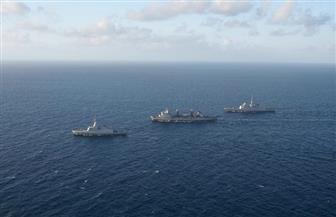 البحرية المصرية والفرنسية تنفذان تدريبا عابرا بنطاق البحر المتوسط
