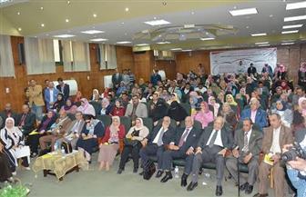 الخدمة الاجتماعية بالفيوم توصي بإنشاء مجلس عربي للتعليم وملحق في السفارات | صور