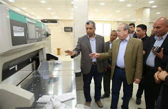 محافظ كفرالشيخ يتابع إنشاء المطبعة المركزية بتكلفة 10 ملايين جنيه| فيديووصور