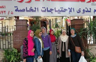 كلية الفنون التطبيقية بجامعة حلوان تحتفل بيوم اليتيم |صور