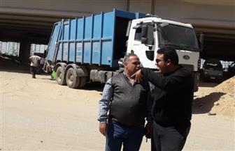 قرار وزاري برفع تراكم المخلفات في منطقة الكيلو ٤.٥ بعزبة الهجانة