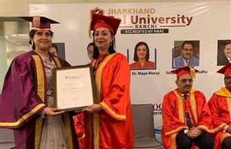 جامعة هندية تمنح رئيسة المجلس القومي للمرأة دكتوراه فخرية