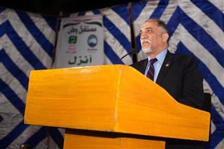 القصبى: المشاركة بالاستفتاء بمثابة حائط صد ضد المؤامرات التى تحاك لمصر