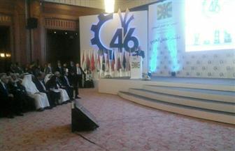 المطيري: نشكر الرئيس السيسي لرعايته مؤتمر العمل العربي.. وتوصيات تخدم أطراف العمل | صور
