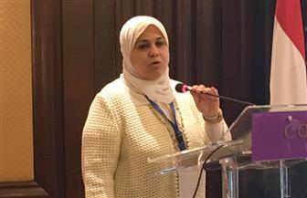 رئيسة قطاع التخطيط بالري تستعرض فعاليات أسبوع القاهرة الثاني للمياه