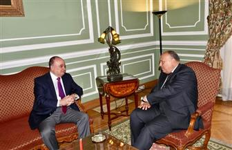 وزير الخارجية يبحث المستجدات على الساحة الفلسطينية مع عضو اللجنة المركزية لحركة فتح | صور