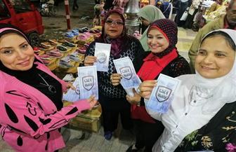 """أمانة المرأة بـ""""المصريين الأحرار"""" يلتقون مواطني المنشية والليمون لشرح تعديلات الدستور  صور"""