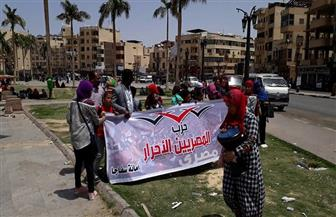 """""""المصريين الأحرار"""" بسفاجا يحتفل بيوم اليتيم وسط الآثار   صور"""