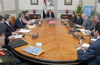 الرئيس السيسي يعقد اجتماعا لمتابعة الموقف التنفيذى للعاصمة الإدارية والمشروعات القومية