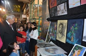 احتفالية ثقافية مصرية فرنسية بنادي جزيرة الورد في المنصورة