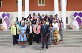 انطلاق فعاليات الدورة التدريبية لتمكين السيدات الريفيات الإفريقيات بالمجلس القومي للمرأة  صور