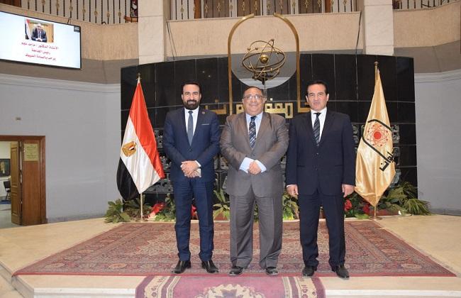 انطلاق فعاليات ندوة صوتك لمصر بكرة بجامعة حلوان | صور