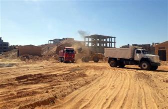 محافظ الدقهلية: رفع 450 طن مخلفات هدم وقمامة بنطاق حى غرب وشرق ومركز المنصورة