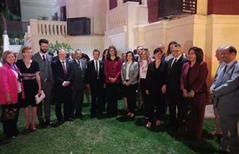 وزيرة الهجرة تلتقي وفد غرفة التجارة والصناعة الأسترالية العربية على هامش زيارته إلى مصر