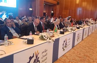 وزير العمل اﻷردني: مصر دائما تفتح أبوابها للأشقاء لمواجهة تحديات سوق العمل |صور