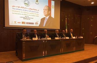 """عبد المحسن سلامة يصل جامعة القاهرة للمشاركة في مبادرة """"إفريقيا بتتكلم عربي""""   صور"""