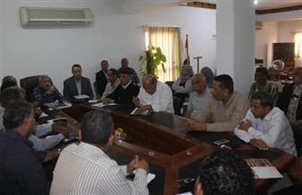 رئيس مدينة القصير يبحث استعدادات الاستفتاء على التعديلات الدستورية واستقبال شهر رمضان   صور
