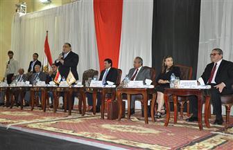 التوعية بالتعديلات الدستورية في ندوة تثقيفية بجامعة حلوان |صور