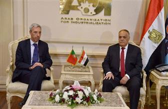 عبد المنعم التراس يبحث مع وزير الدفاع البرتغالي الشراكة بمجال الصناعات الدفاعية والمدنية