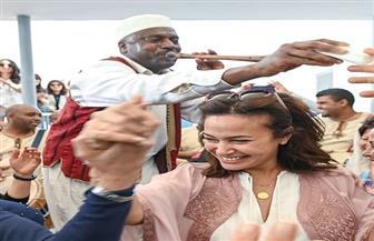 """شاهد.. هند صبري تنشر صورا مع إلهام شاهين وبشرى خلال مهرجان """"قابس"""""""