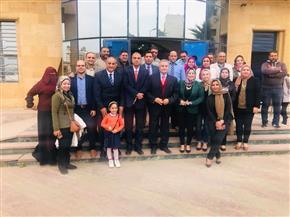 صندوق مكتبات مصر العامة يبحث متطلبات محافظة الدقهلية