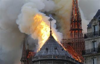 """ماكرون يتوجه إلى كاتدرائية """"نوتردام"""" ويرجئ خطابه المرتقب"""