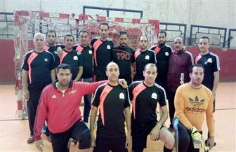 فريق ديوان محافظة الجيزة للكرة الخماسية يفوز على فريقي أسمنت طرة وهيئة التجميل