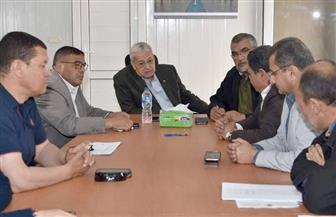 المهندس محسن صلاح يتفقد مشروعي مبنى البرلمان الجديد وإستاد القاهرة الدولي