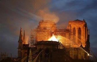 نقل الأعمال الفنية من كاتدرائية نوتردام المحترقة إلى متحف اللوفر