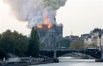إصابة ثلاثة أشخاص في حريق كاتدرائية نوتردام في باريس