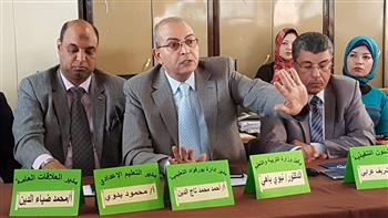 وكيل التربية والتعليم ببورسعيد يشهد الندوة التعريفية بمواد الدستور المعدلة