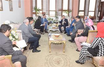 سفير فيتنام يزور بني سويف ويبحث سب التعاون مع المحافظ | صور