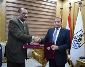 بروتوكول تعاون بين جامعة بني سويف والاتحاد الرياضي المصري للمكفوفين