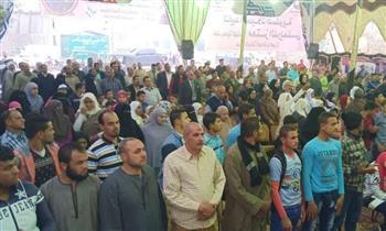 """""""مستقبل وطن"""" يشرح التعديلات الدستورية للصم والبكم بالجيزة ويحثهم على المشاركة"""