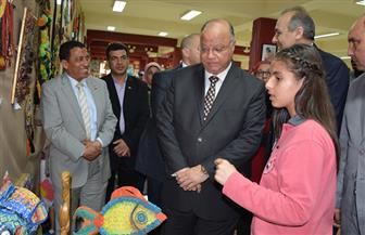 محافظ القاهرة يشهد معرض ختام الأنشطة التربوية | صور