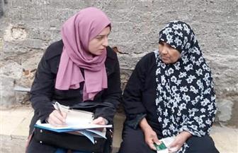 القومي للمرأة يواصل حملات طرق الأبواب للتوعية بأهمية الاستفتاء في القاهرة