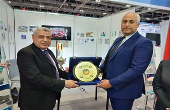 سفير مصر بعمان يزور جناح جامعة طنطا بالمعرض العالمي للتعليم العالي