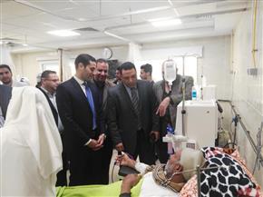 افتتاح قسم الغسيل الكلوى بمستشفى قلين المركزى الجديد لخدمة المرضي   صور