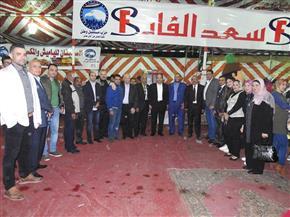 """""""مستقبل وطن"""" يفتتح معرض السلع الغذائية بحى الزهور ببورسعيد بأسعار مخفضة 30%"""